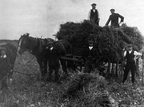 Coldstone Farm, Shipton, 1910s