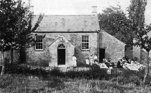 Baptist Chapel, Shipton 1921.