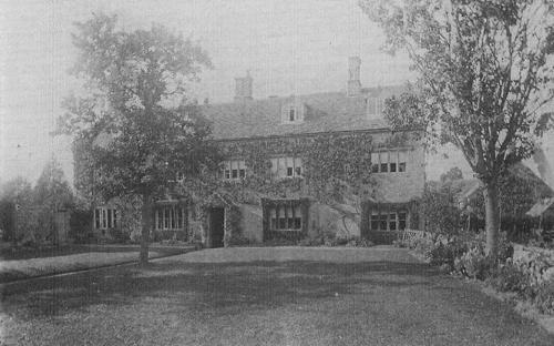 Prebendal Farm, Shipton, early 1900s