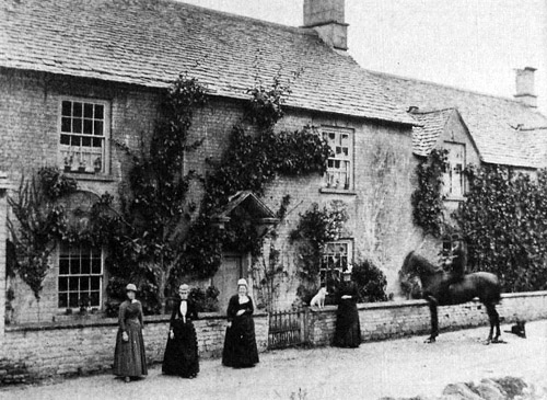 Long House Farm, High Street, Ascott, 1870s