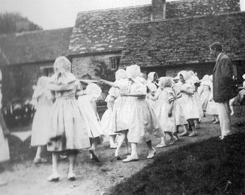 Morris Dancers, Ascott, about 1913