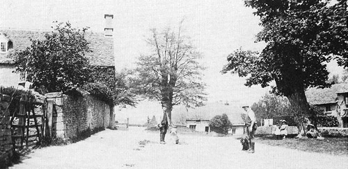 The Green, Fifield, early 1900s