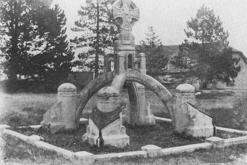 The tomb of Sir Benjamin Baker, 1840-1907.