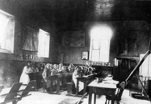 Idbury School, 1906