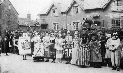 Fancy Dress Parade, Lyneham 1937