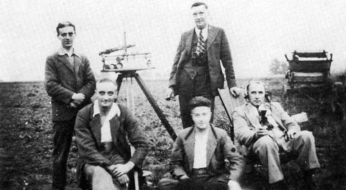 The Observer Corps, Shipton, 1939