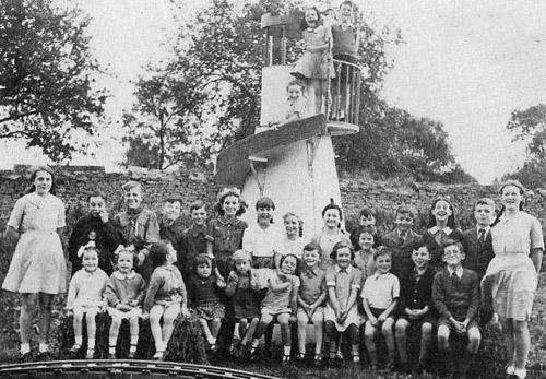 Lyneham Victory Party, 1945.