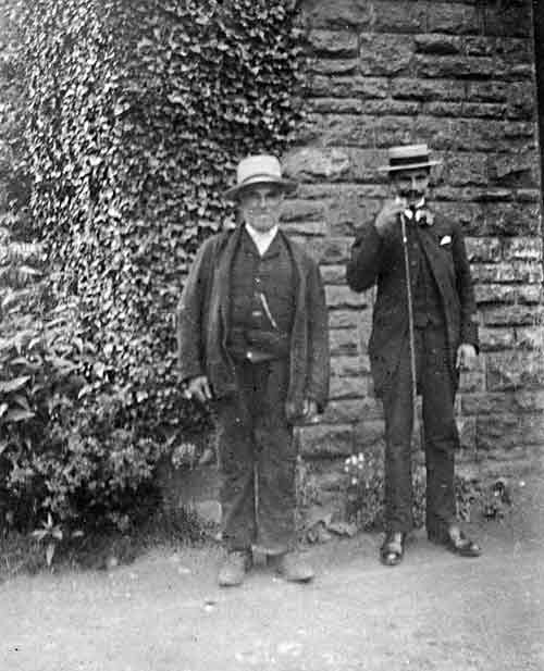 Thomas Longshaw and his son Alfred Longshaw
