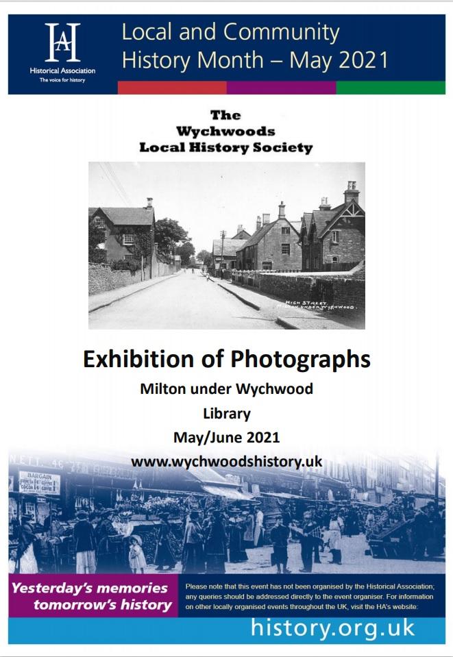 Wychwoods History Society Events 2012