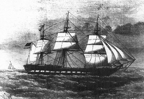 This engraving of the Cospatrick appeared in the Illustrated London News 19 January 1875. Reproduced with kind permission of Mr R R William
