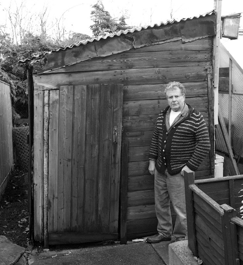 Charlie recycles the old Vestry Door